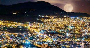 شهر سنندج کردستان ملقب به هزار تپه