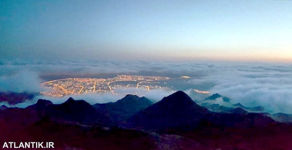 عکس هوایی از شهر بیرجند