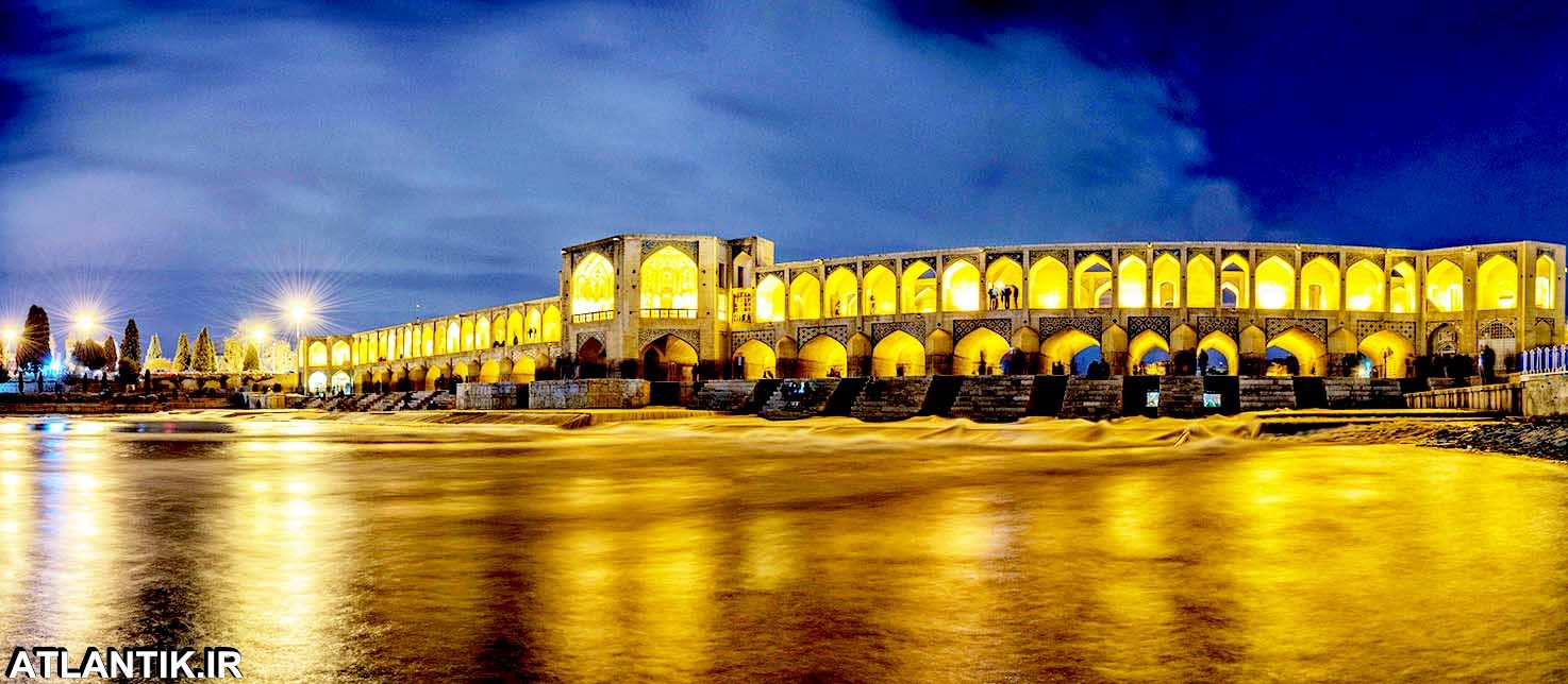 پل خواجو مرکز شهر اصفهان