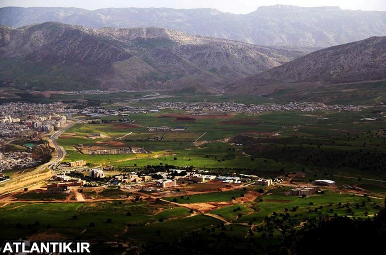 طبیعت زیبای گردشگری شهر ایلام