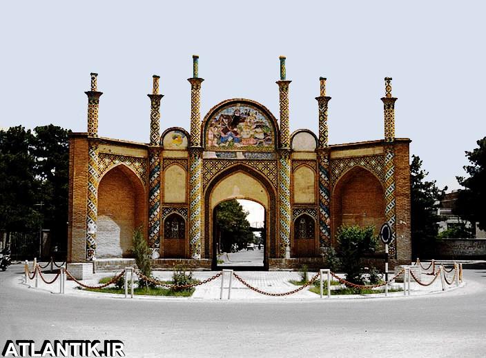 دروازه قدیم شهر سمنان