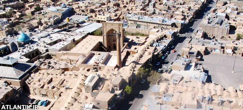 مسجد جامع و مناره بلند شهر سمنان