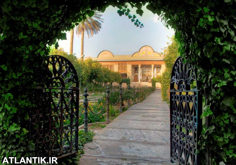 معماری باغ های ایرانی شهر شیراز