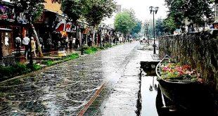 رشت شهر باران های نقره ای