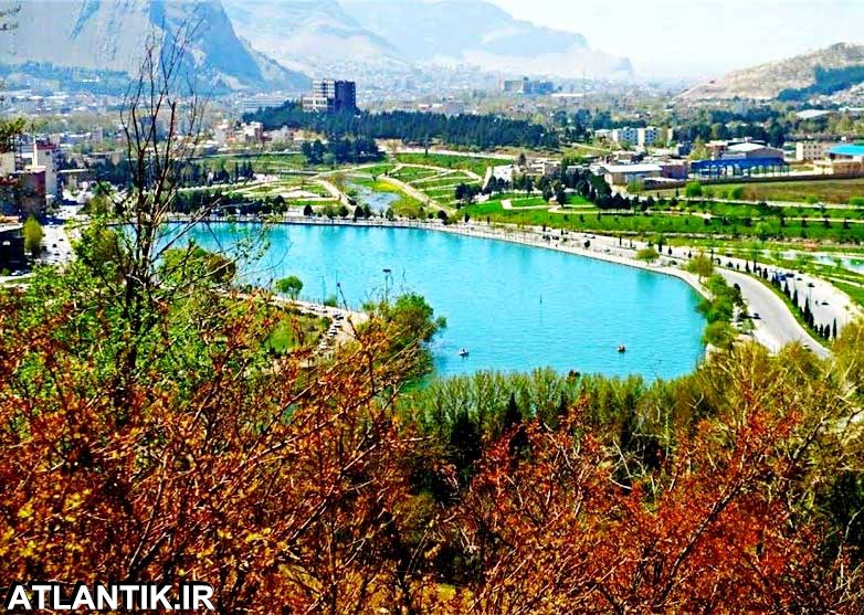 دریاچه کیو شهر خرم آباد استان لرستان