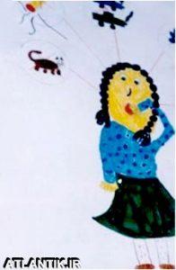 روز جهانی آسم نقاشی کودک ایرانی