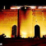 ارگ علیشاه تبریز در شب