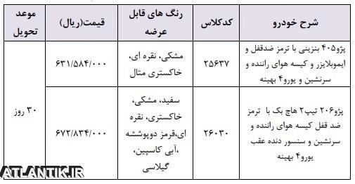 شرایط فروش ایران خودرو خرداد 98