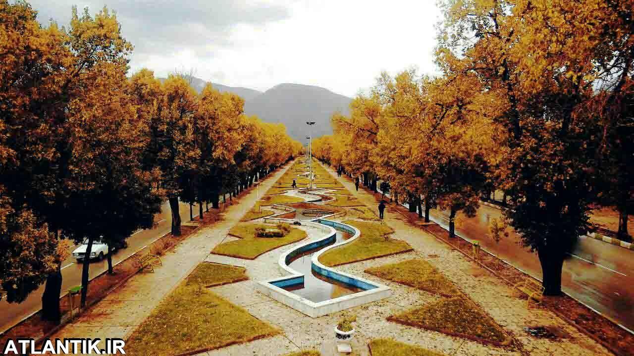 طبیعت پاییزی شهر کرمانشاه
