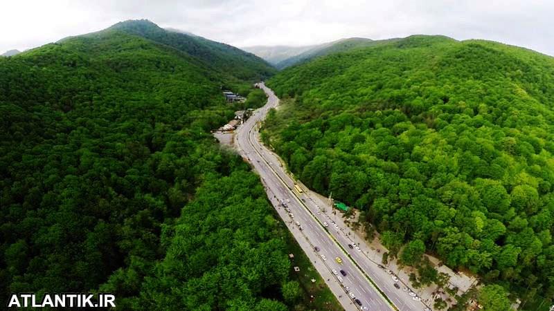 جاده های شهر گرگان