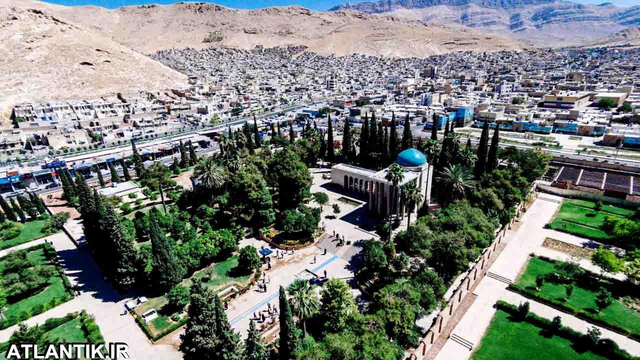 آرامگاه سعدی شهر شیراز