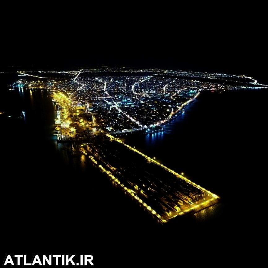 شب های زیبای بندر بوشهر