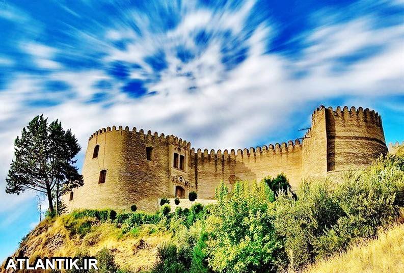 قلعه زیبای فلک و الافلاک شهر خرم آباد لرستان