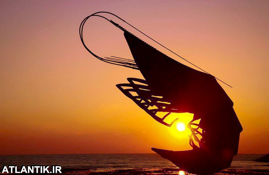 بندر بوشهر خورشید خلیج فارس