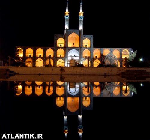 شب های مسجد جامع شهر یزد