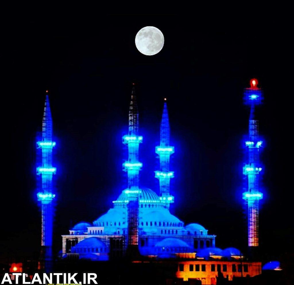مسجد مکی بزرگترین مسجد ایران شهر زاهدان