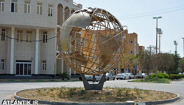 المان شهری بوشهر میدان المپیک
