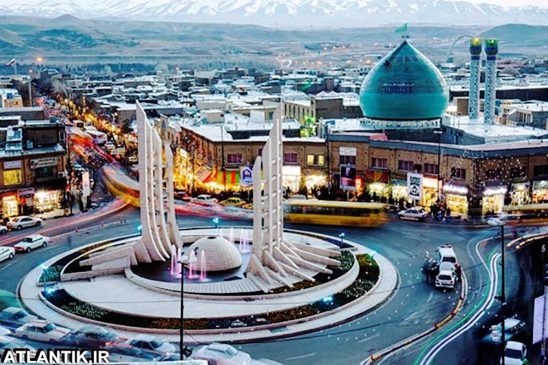 میدان انقلاب شهر زنجان