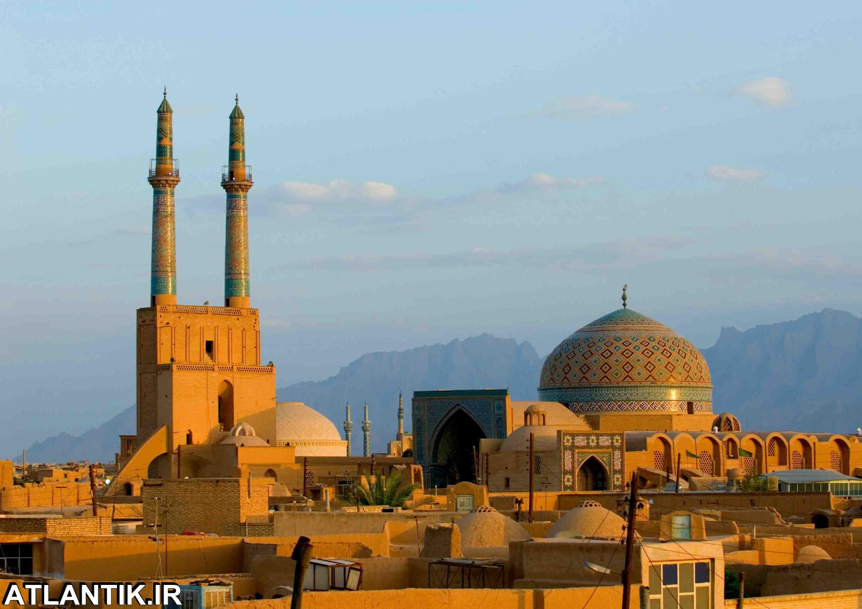 بافت تاریخی و مسجد جامع شهر یرد