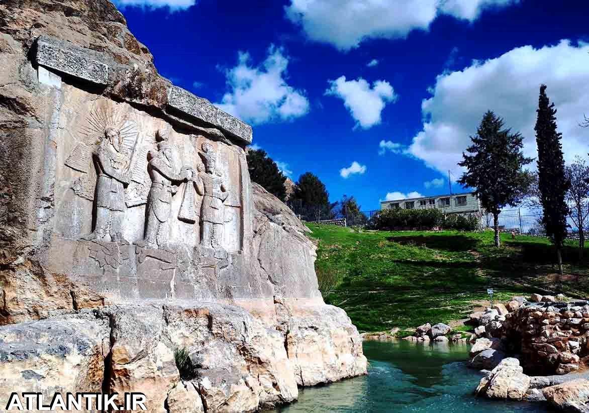 کتیبه های باستانی شهر کرمانشاه