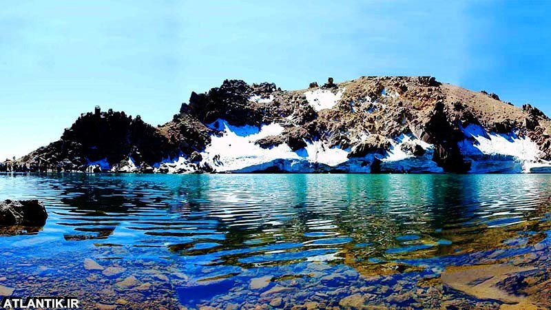 رشته کوه و چشمه های آب گرم سبلان