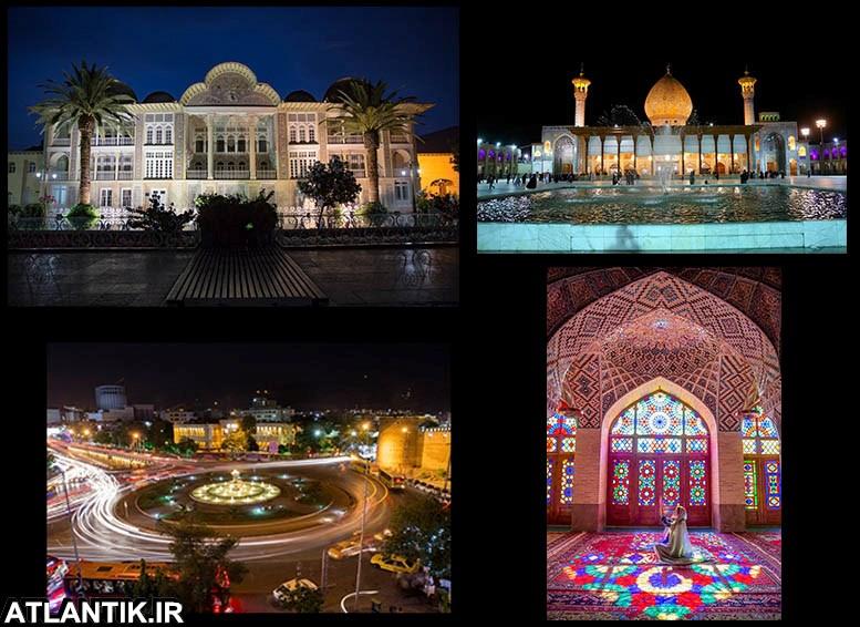 جاذبه های گردشگری شهر شیراز