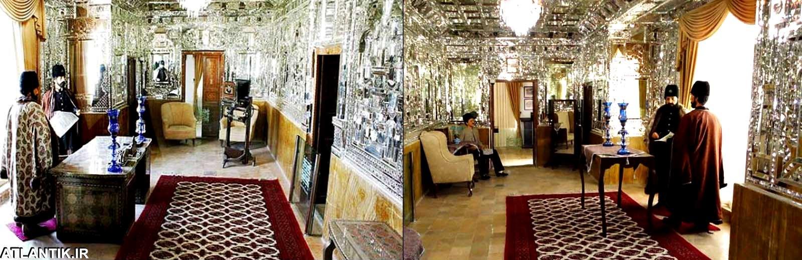 عمارت تاریخی آینه خانه مفخم، مکان های گردشی خراسان شمالی، شهر بجنورد، آتلانتیک