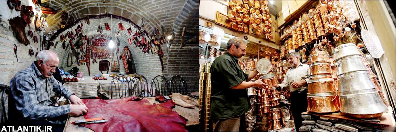 طولانی ترین بازار سرپوشیده ایران؛ زنجان، سایت گردشگری آتلانتیک