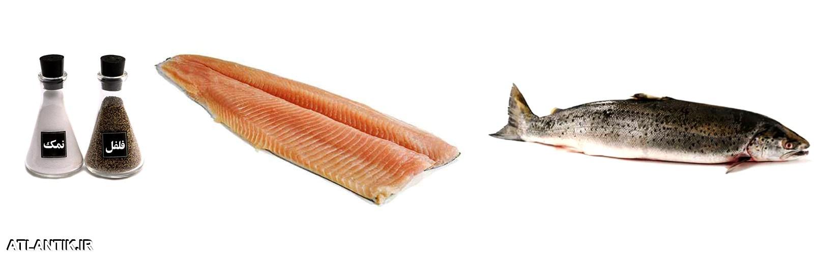 دستور پخت ماهی کباب، ماهی قزل آلا، سایت آشپزی آتلانتیک