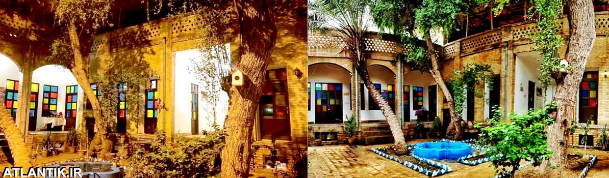 خانه تاریخی ماپار اهواز - مجموعه گردشگری تاریخی ماپار - شهر اهواز - آتلانتیک