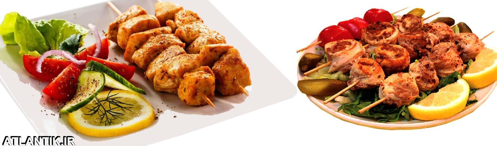 دستور پخت کباب مرغ، سایت آشپزی آتلانتیک