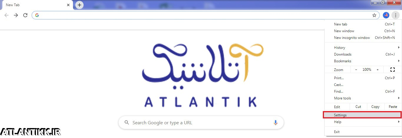 باز نشدن سایت ها و آموزش حذف تنظیمات پروکسی-نظیمات Proxy در مرورگر گوگل کروم