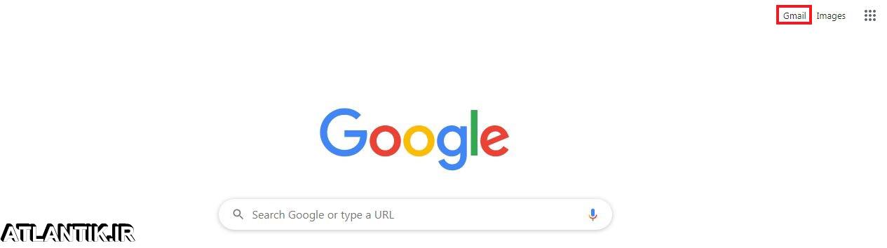 ورود به جيميل از گوگل