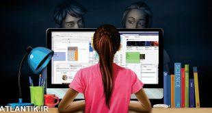 دنياي آنلاين و راهکارهاي کنترلي فرزندان - آموزش خانواده - سايت آتلانتيک