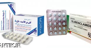 داروشناسي آتلانتيک - معرفي داروي ضد ديابت گلی بن کلامید – Glibenclamide
