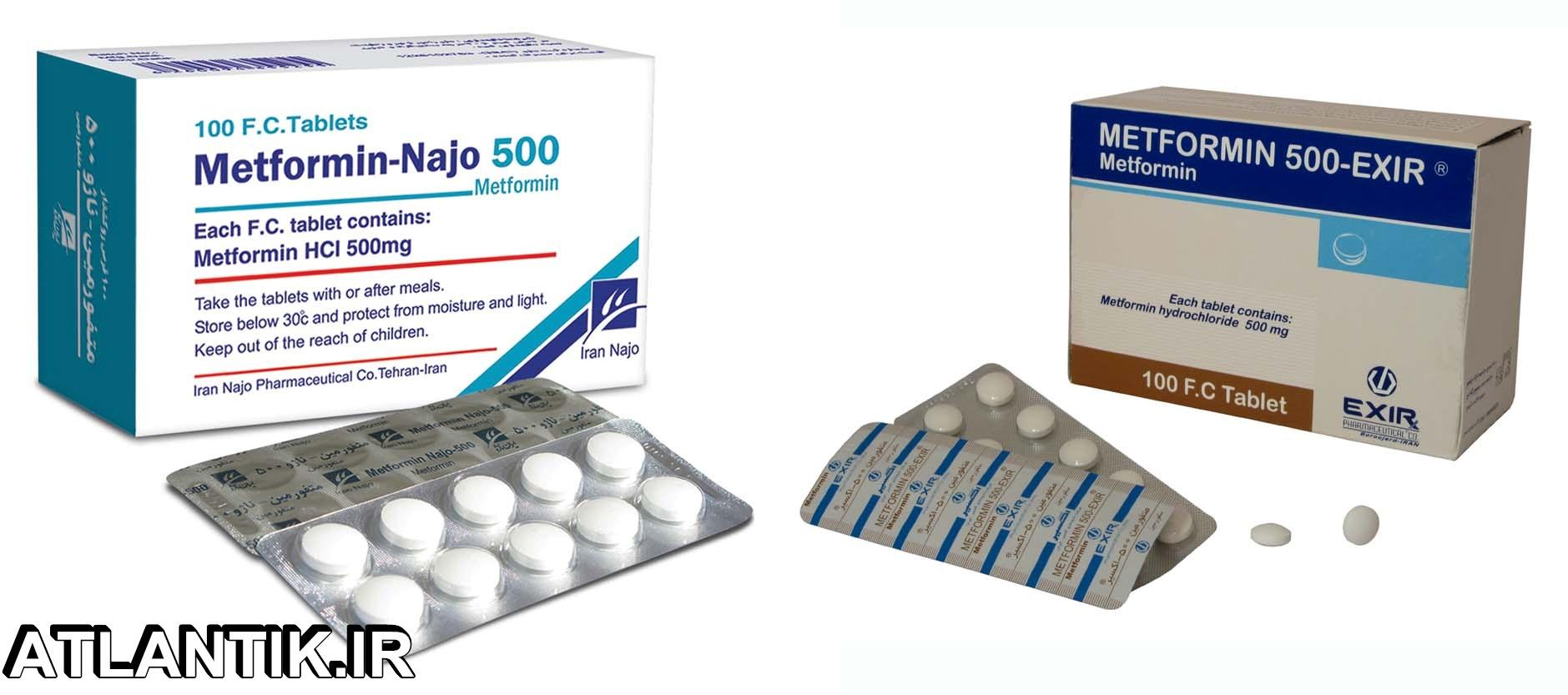 داروشناسي آتلانتيک - معرفي داروي ضد ديابت متفورمین – Metformin