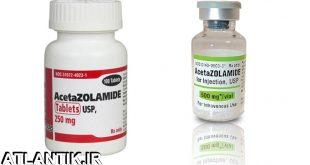 داروشناسي آتلانتيک - معرفي داروي بيماري چشم استازولامید – Acetazolamide