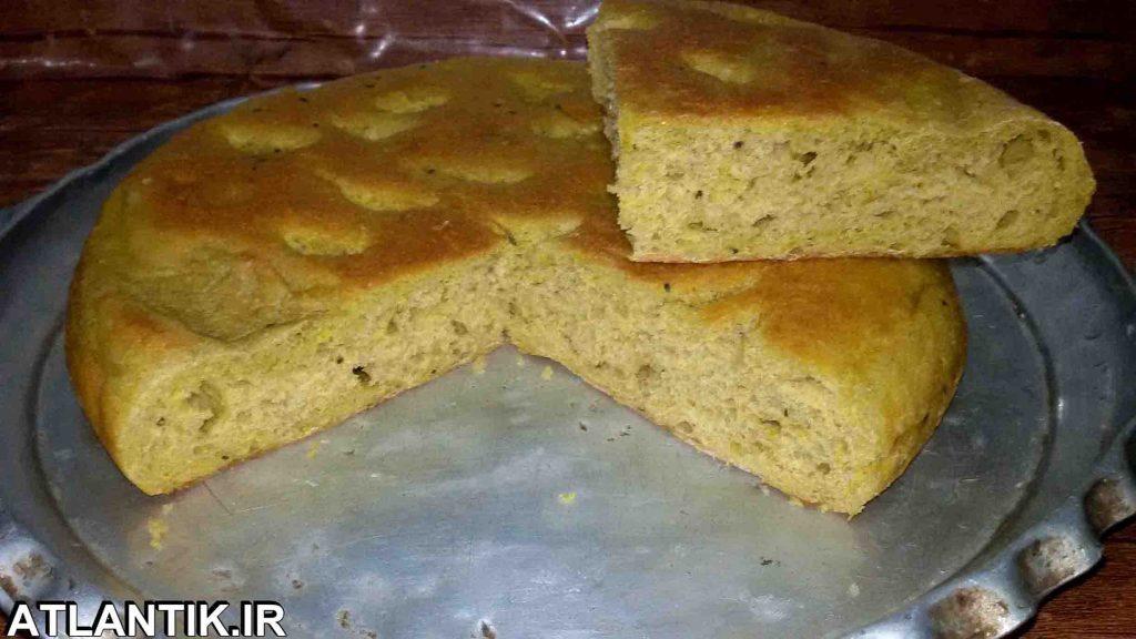 سايت آموزشي آتلانتيک- آشپزخانه آتلانتیک: طرز تهیه نان کپو کرمان