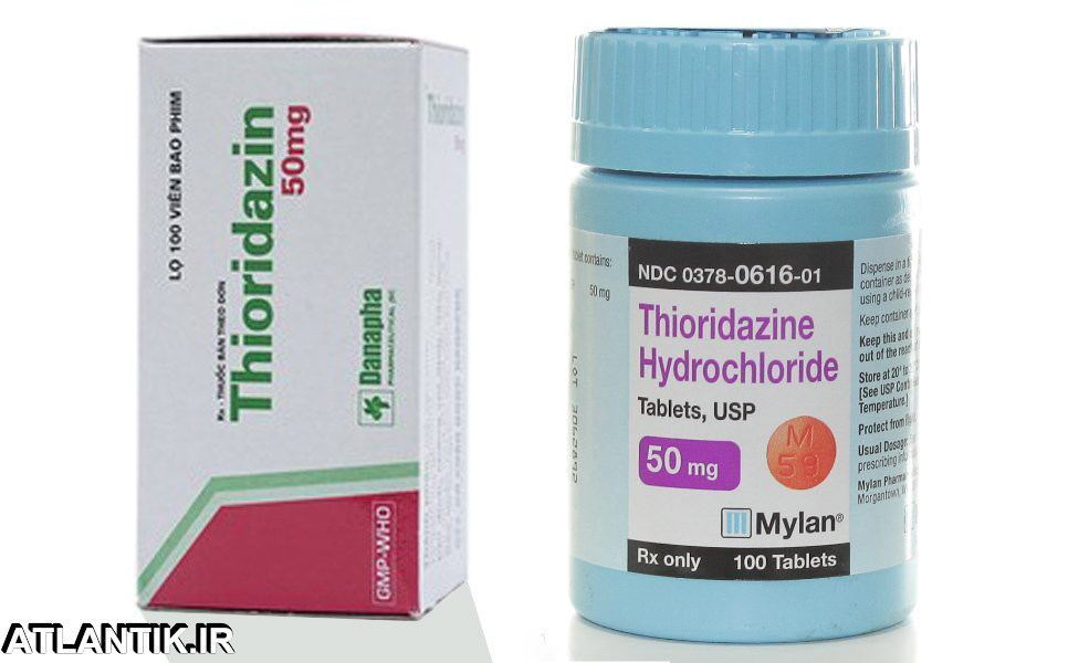 داروشناسي آتلانتيک - معرفي داروي روان گردان تیوریدازین – Thioridasine - Thioridazine