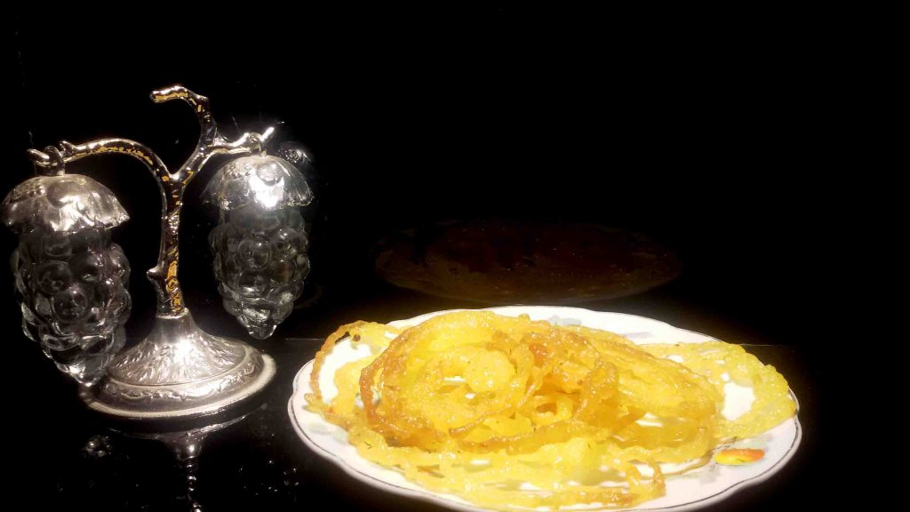 طرز تهیه زلوبیا ویژه ماه رمضان - آشپزخانه سايت آتلانتيک