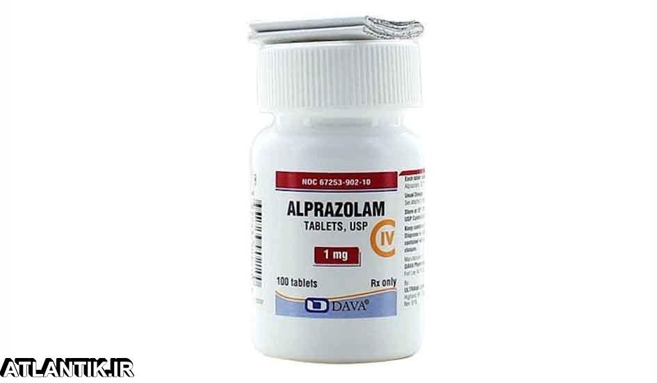 معرفي داروي ضد اضطراب آلپرازولام – Alprazolam- داروشناسي آتلانتيک