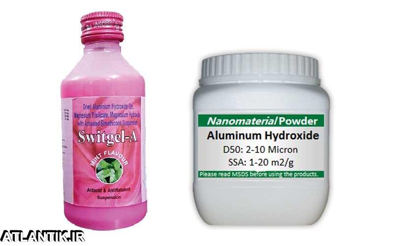 معرفي داروي ضد زخم معده و اثنی عشر آلومینیوم هیدروکساید – Aluminium Hydroxide-داروشناسي