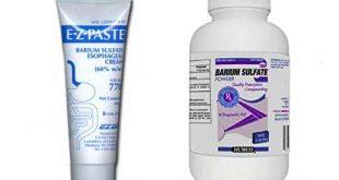 معرفي داروي ضد زخم معده و اثنی عشر باریم سولفات – Barium Sulfate - اطلس داروشناسي