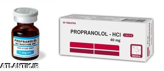 معرفي داروي ضد اضطراب پروپرانولول – Propranolol-بانک دارو