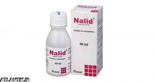 داروشناسي-اتلانتيک-معرفي داروي ضد باکتري نالیدیکسیک اسید – Nalidixic Acid-دارو-قرص-سوسپانسيون