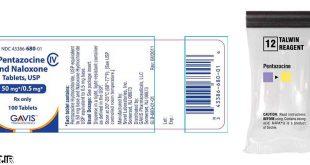 آتلانتيک-معرفي داروي ضد درد پنتازوسین – Pentazocine - داروشناسي- اطلاعات دارويي