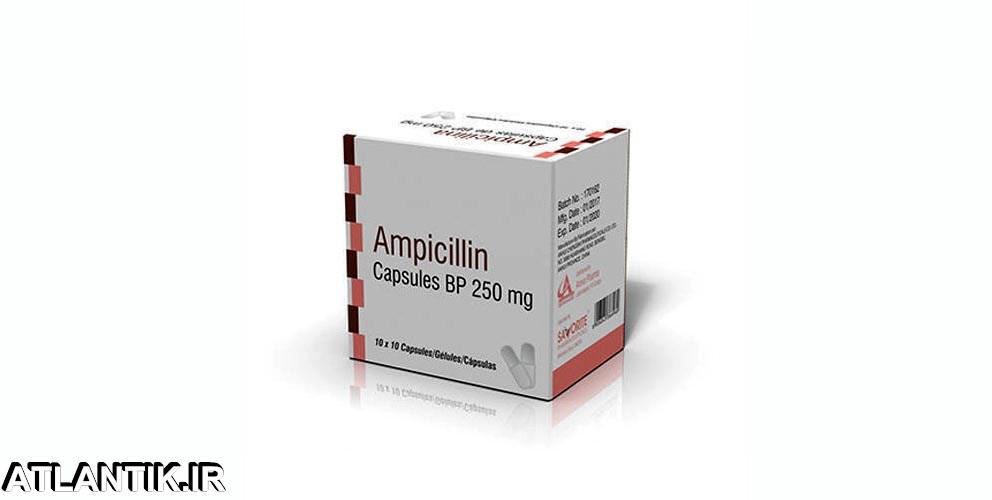 معرفي داروي ضد میکروب آمپی سیلین– Ampicilin -داروشناسي اتلانتيک